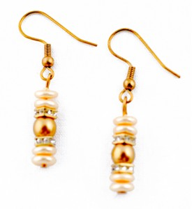 Adzo ombre gold earrings