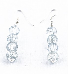 Adzo pale blue earrings